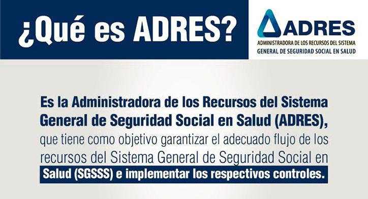¿Qué es el fosyga (ADRES) y cuales son sus funciones Colombia 'enero?