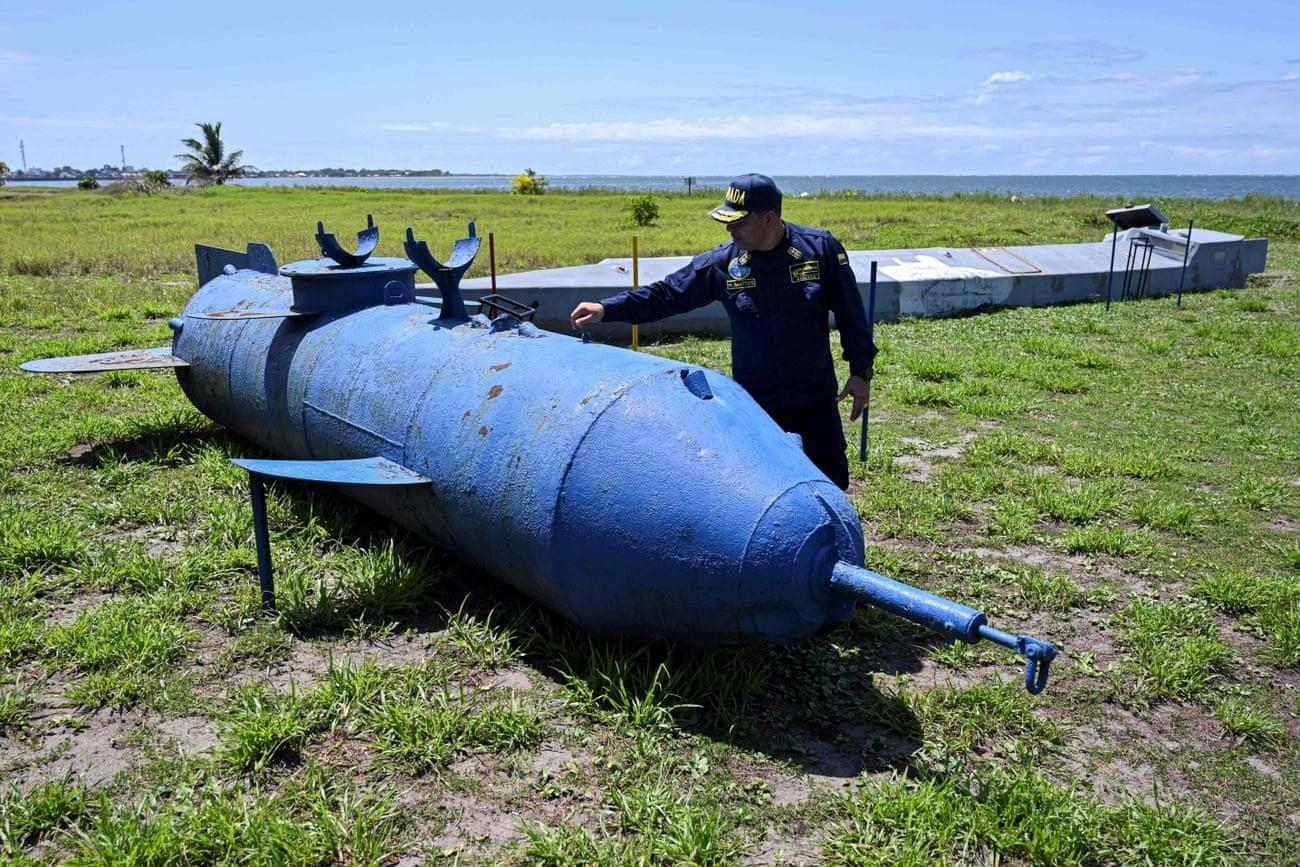 Los narcosubmarinos de Colombia - un ensayo fotográfico