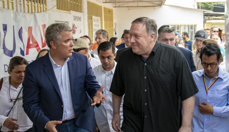 El gobierno de Colombia actúa como un felpudo para los Estados Unidos - y su gente no está de acuerdo con él.