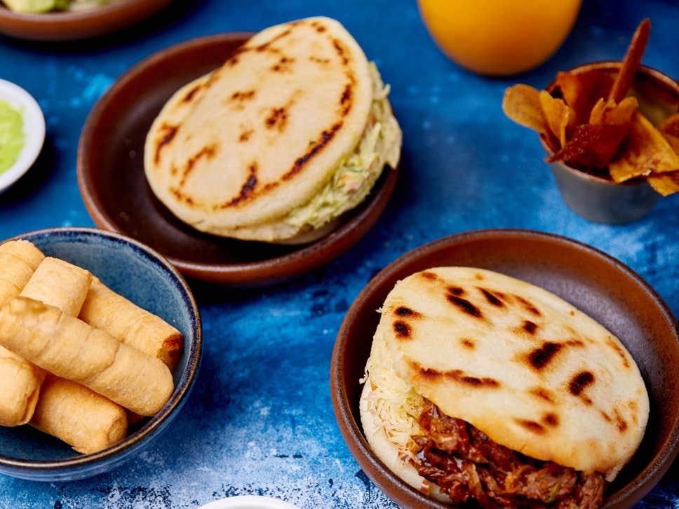 Cómo la comida venezolana está encontrando lentamente su camino hacia el Reino Unido