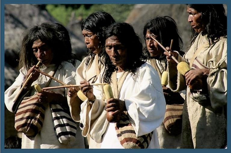 Los kogi, una comunidad indígena de Colombia, advierten de los desastres provocados por el hombre