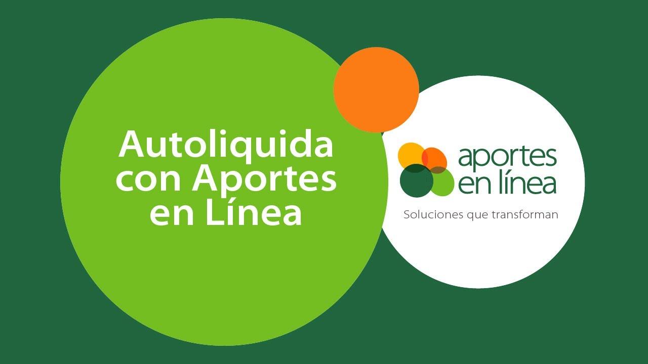 Aportes en linea Colombia '2021'
