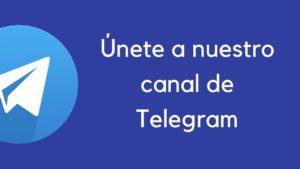 canal de telegram