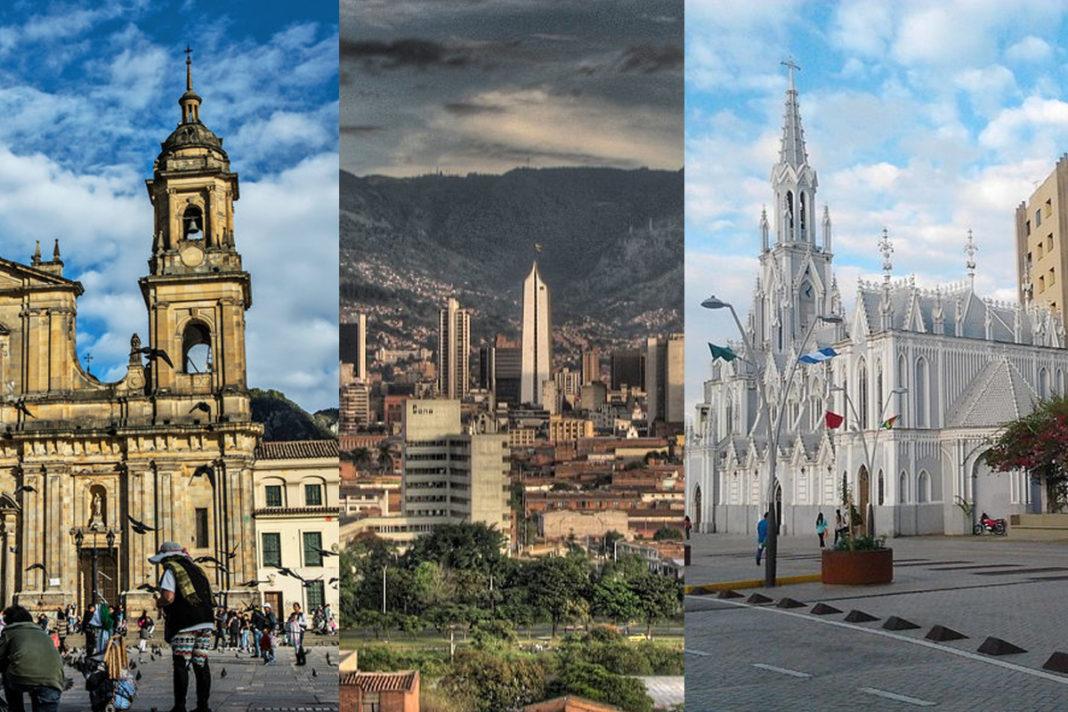 7 ciudades con un gran aumento de casos de virus de la coronación en Colombia