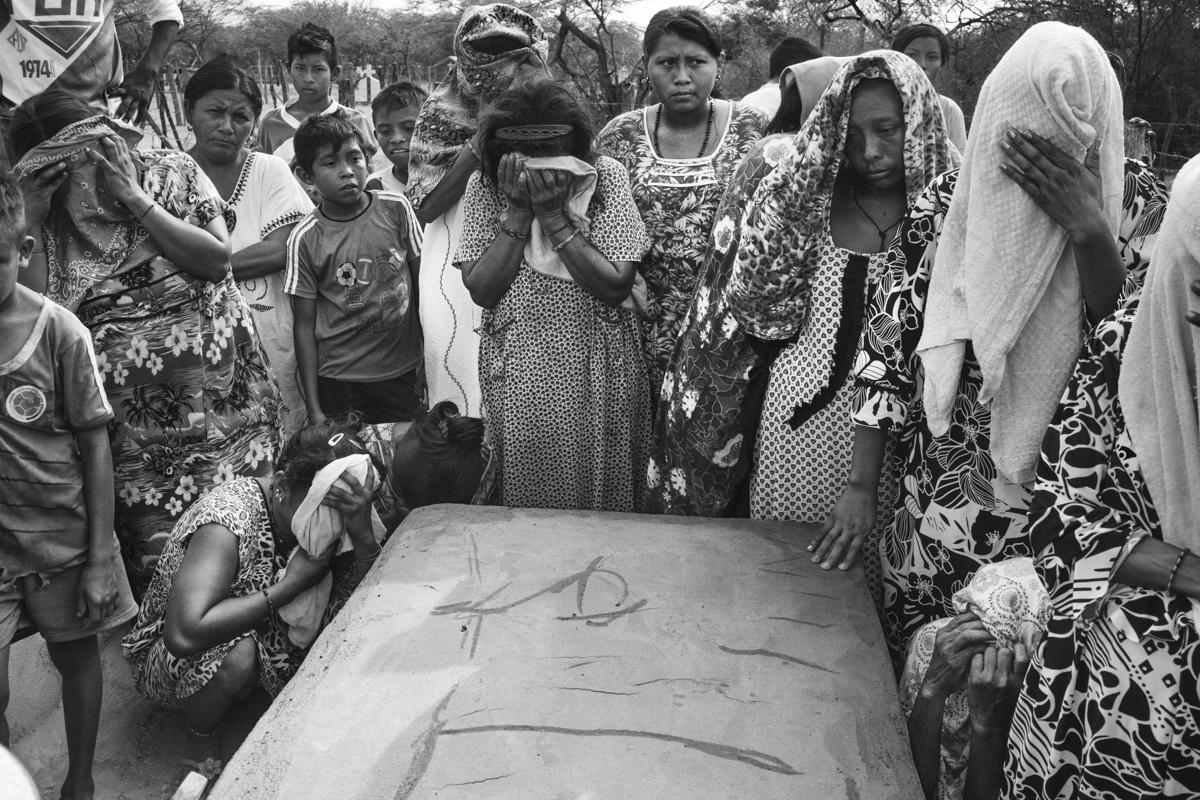 En la Guajira de Colombia, los nativos Wayuu son olvidados en el polvo