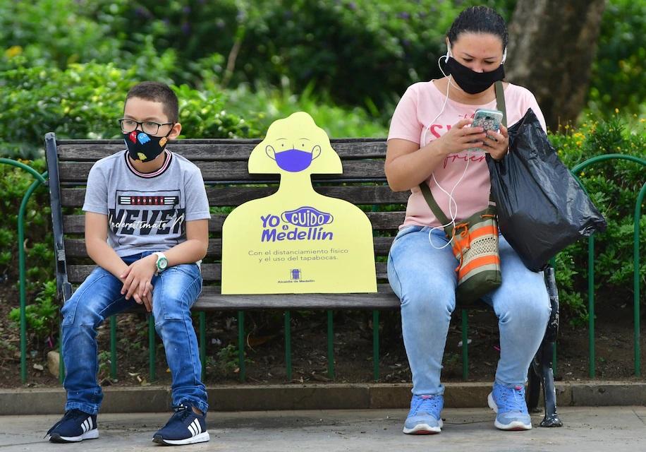 La ciudad colombiana de Medellín emerge como pionera sorpresa de COVID-19